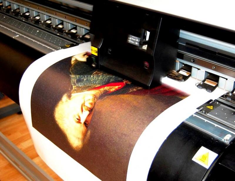 Как происходит печать на хосте